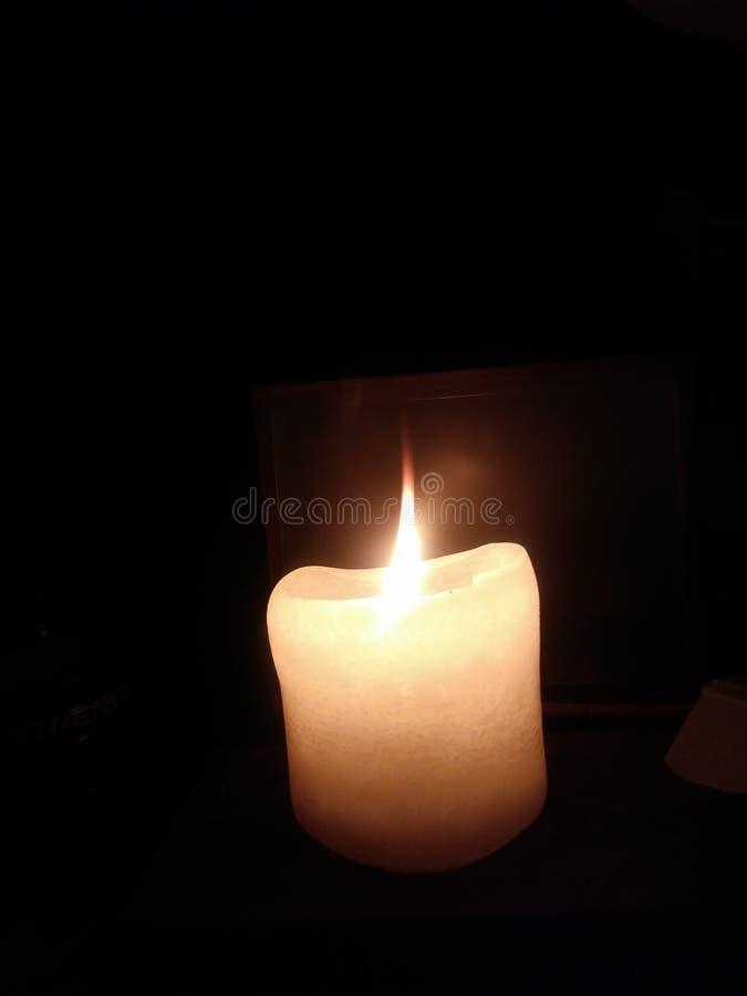 发火焰唯一 库存照片