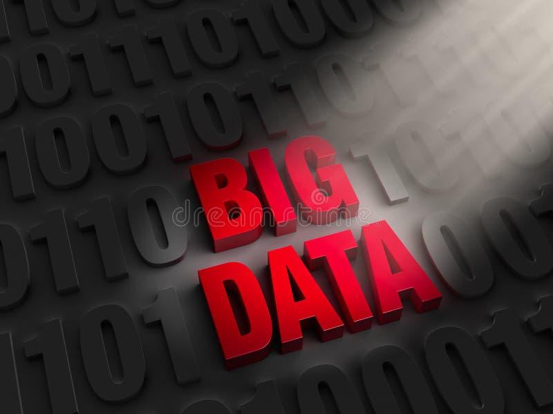 发现大数据 向量例证