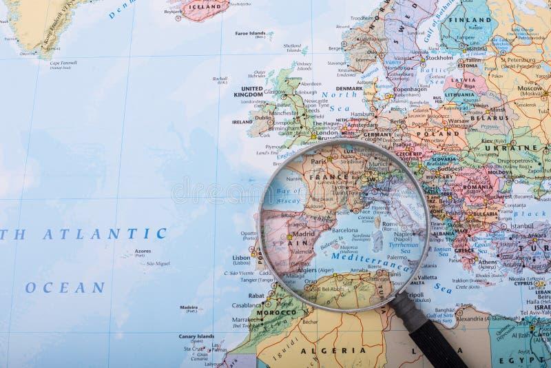 发现查寻的方式您的旅行 免版税库存照片