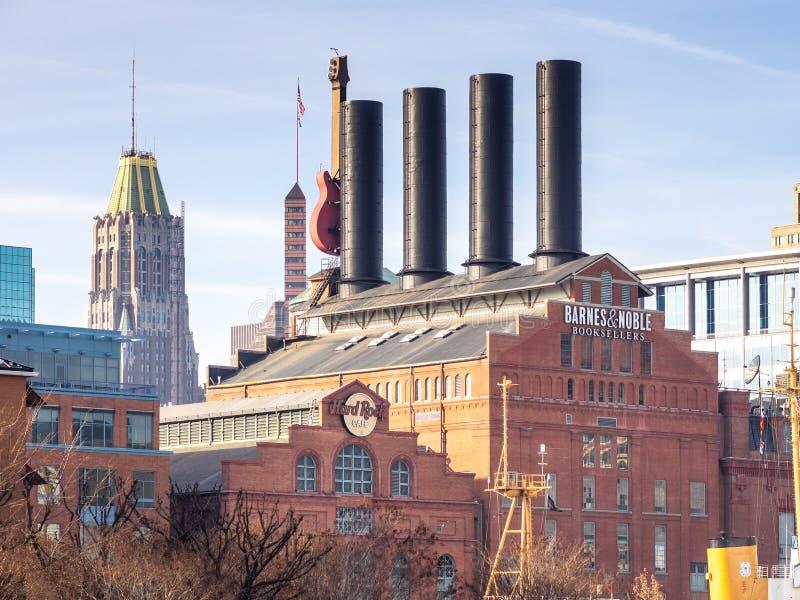 发电厂的另一边 库存图片