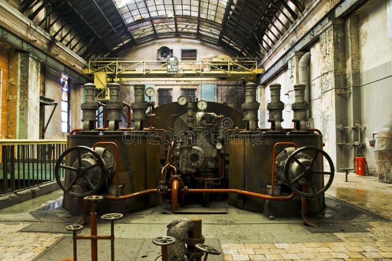 发电器能源厂 免版税库存图片