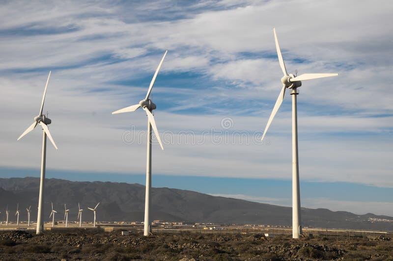 发电器风轮机 库存照片