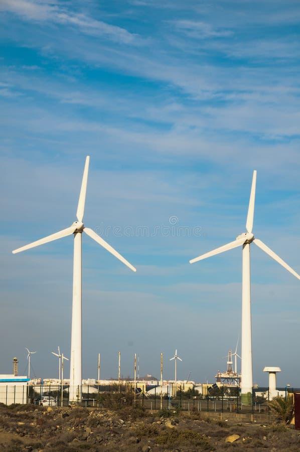 发电器风轮机 免版税图库摄影