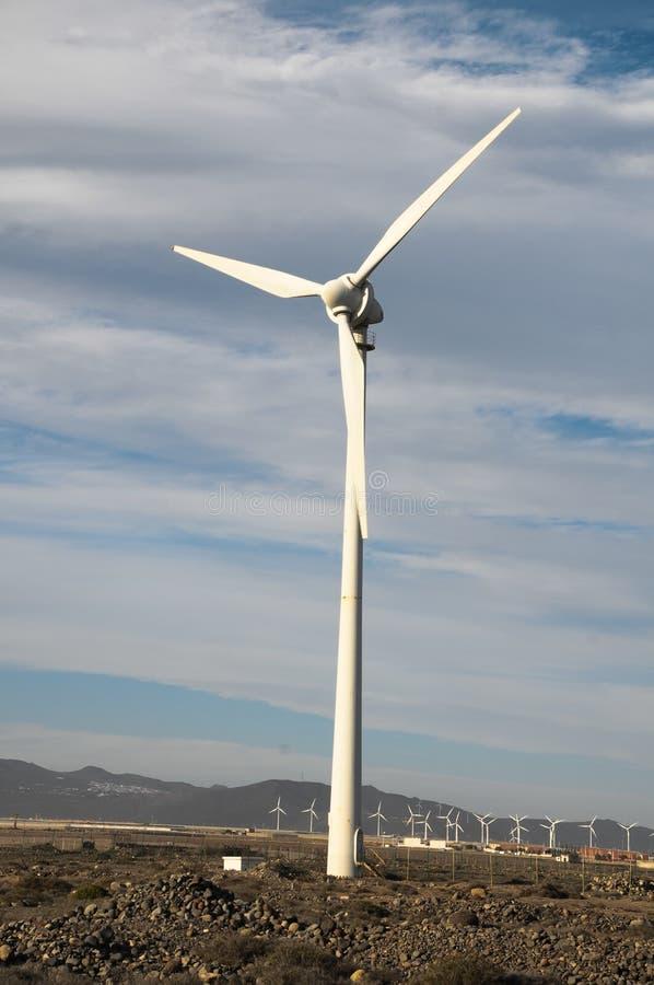 发电器风轮机 免版税库存图片