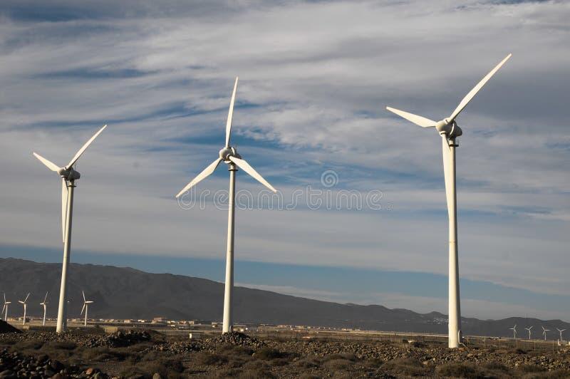 发电器风轮机 免版税库存照片