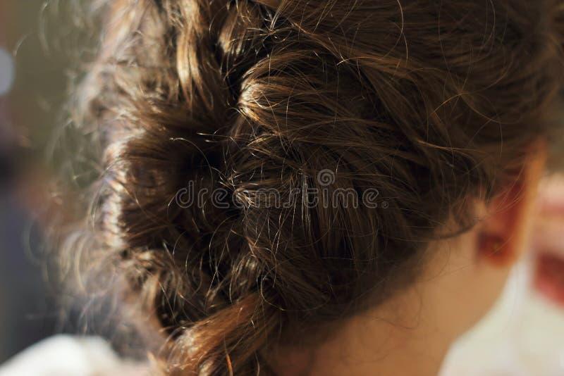 头发辫子 图库摄影