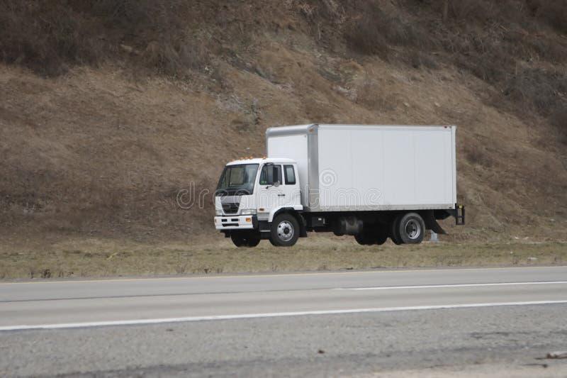 发运移动卡车 免版税库存图片