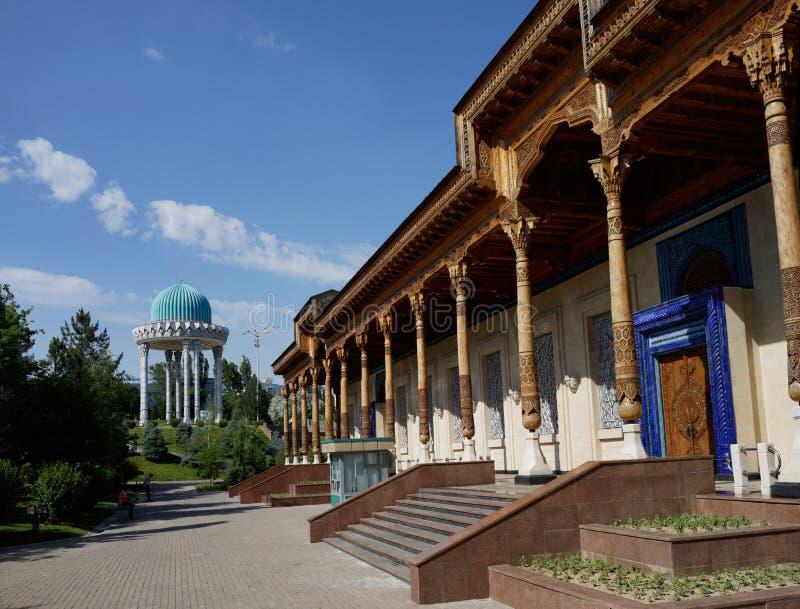 受害者抑制,塔什干,乌兹别克斯坦的记忆博物馆  库存图片