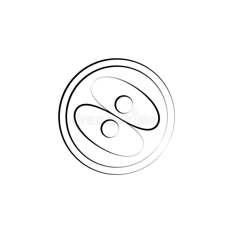 受精卵巢概念线象 简单的元素例证 从Mot的受精卵巢概念概述标志设计 皇族释放例证