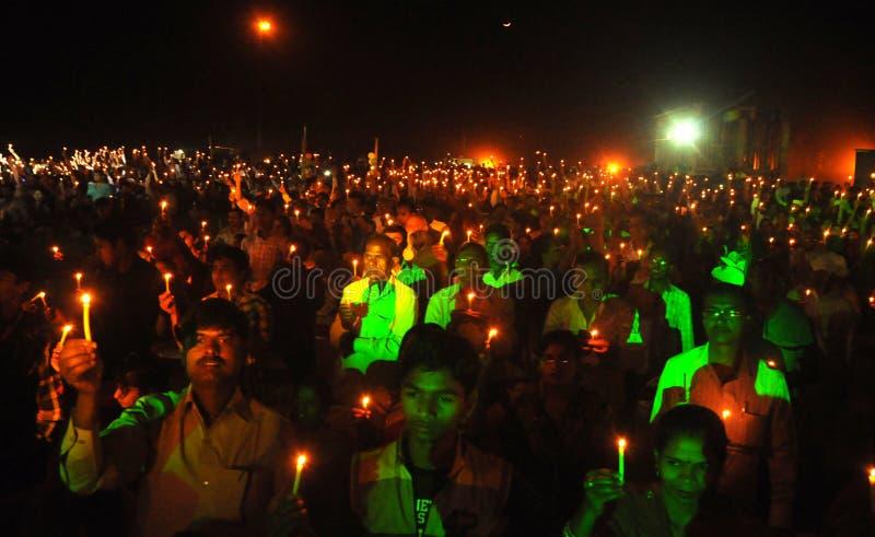 受难者天在加雅,比哈尔省,印度 免版税库存照片