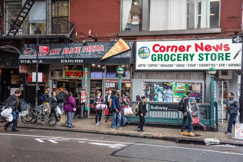 变化在纽约 免版税库存图片