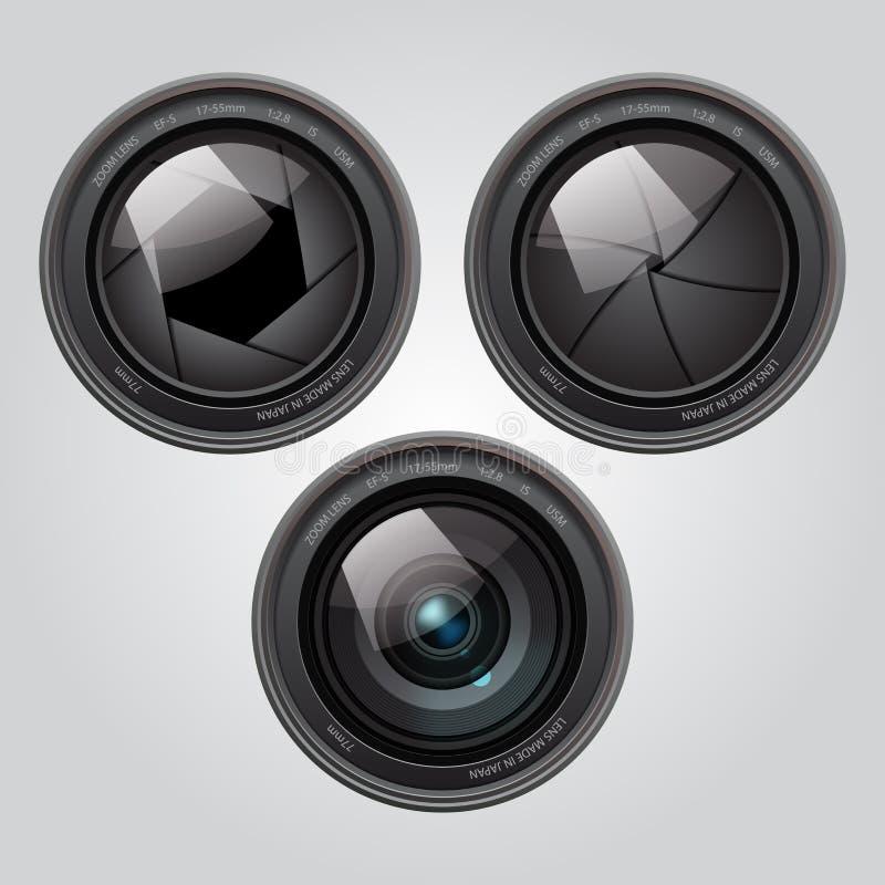 变焦镜头 免版税库存图片