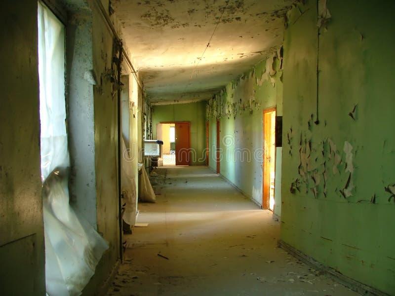 变老的房子 免版税库存图片