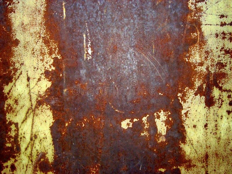 变老的棕色墙壁 库存图片