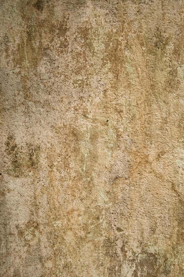 变老的破裂的膏药墙壁 库存图片