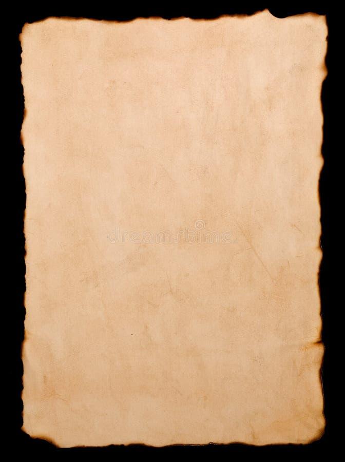 变老的纸张 向量例证