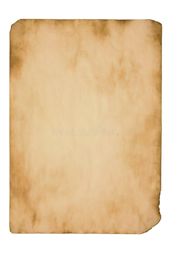 变老的纸张