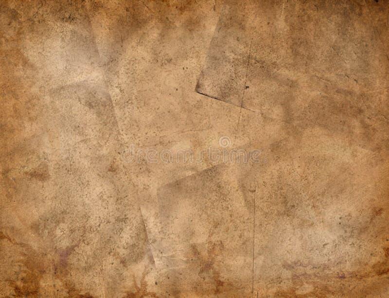 变老的纸张 免版税图库摄影