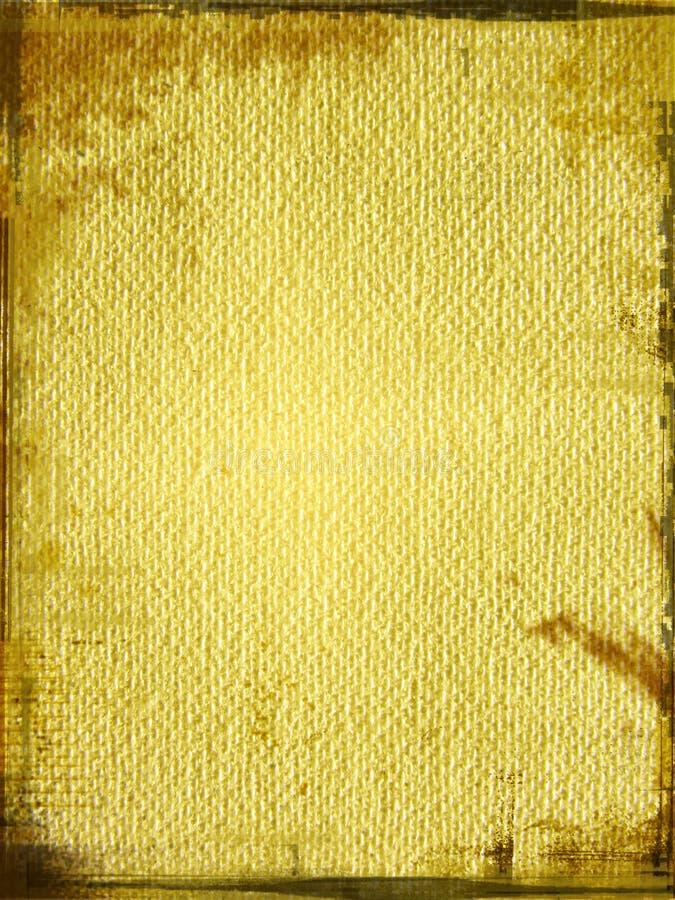 变老的纸水彩 皇族释放例证