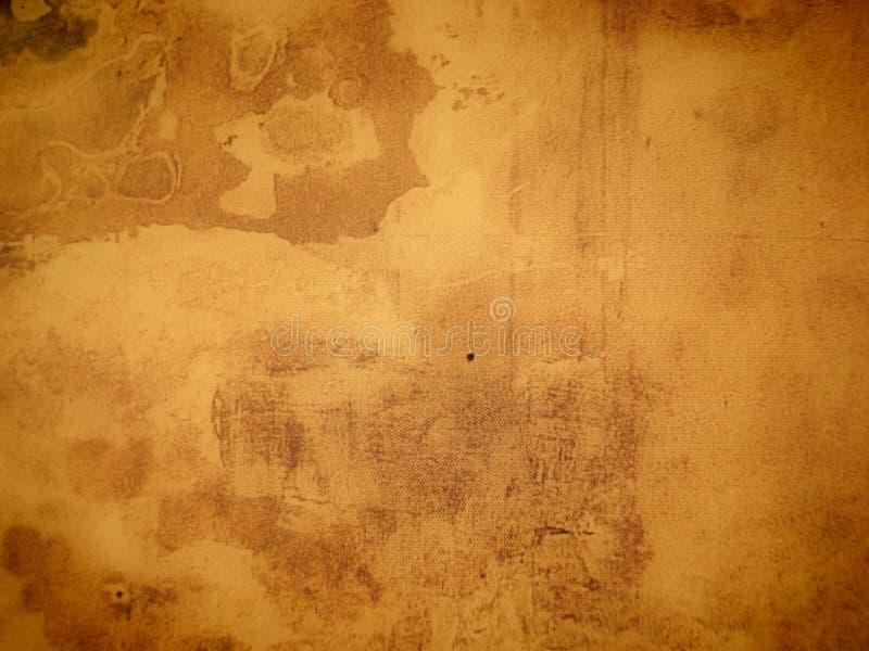 变老的纸纹理 免版税库存图片