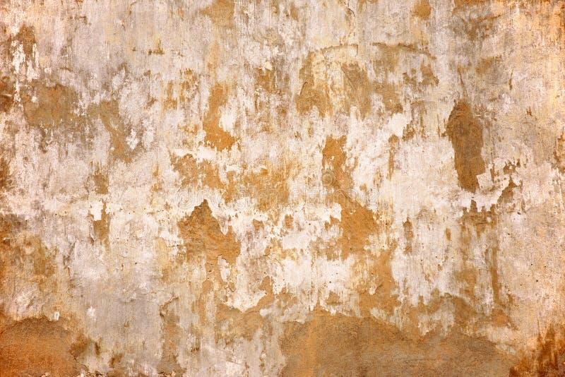 变老的水泥纹理墙壁 背景构造了 免版税库存图片