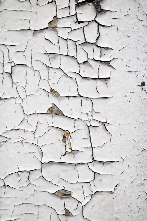 变老绘崩裂了在恶劣的情况的木表面纹理 免版税库存图片