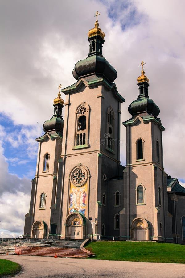 变貌的大教堂在万锦市加拿大 免版税图库摄影