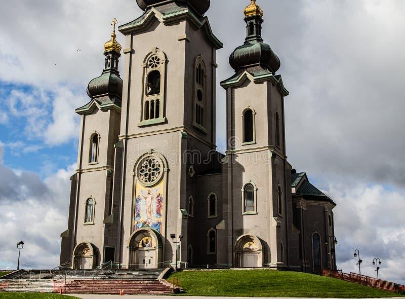 变貌的大教堂在万锦市加拿大 免版税库存照片
