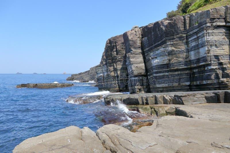变质岩在山口告诉了苏萨Hornfels宁可 免版税库存图片