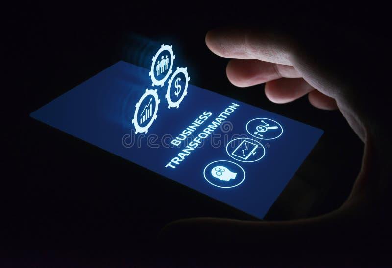 变革现代化创新企业互联网技术概念 免版税图库摄影