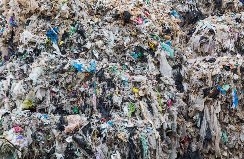 变紧密的可再循环的塑料 免版税库存图片