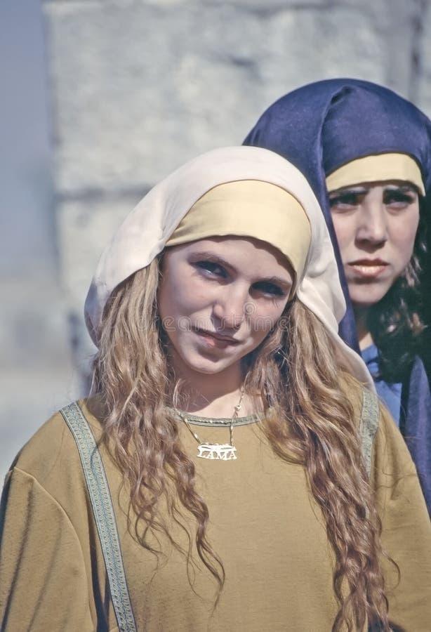 叙利亚妇女 库存图片