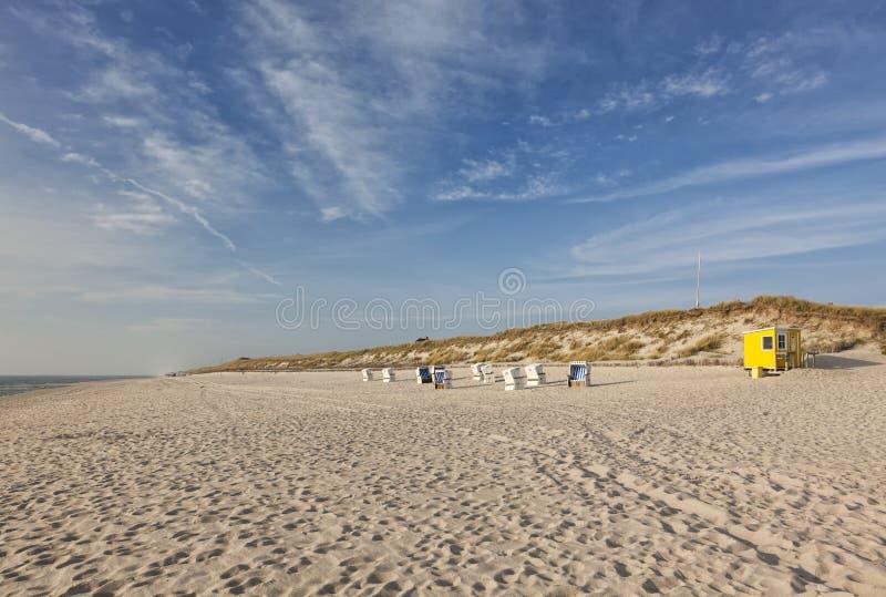 叙尔特岛北海海滩 库存照片