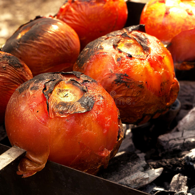口味油煎的菜 免版税库存图片