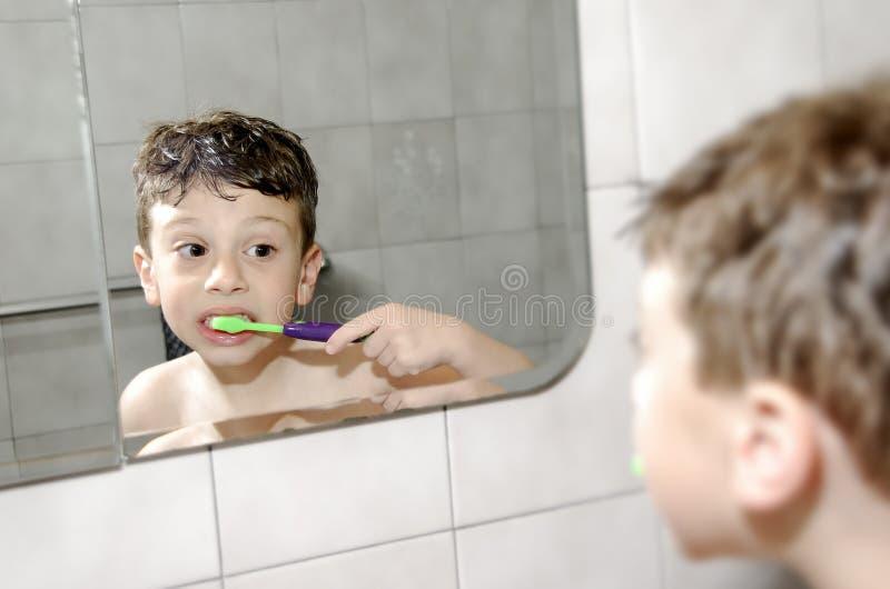 口头的卫生学 免版税库存图片