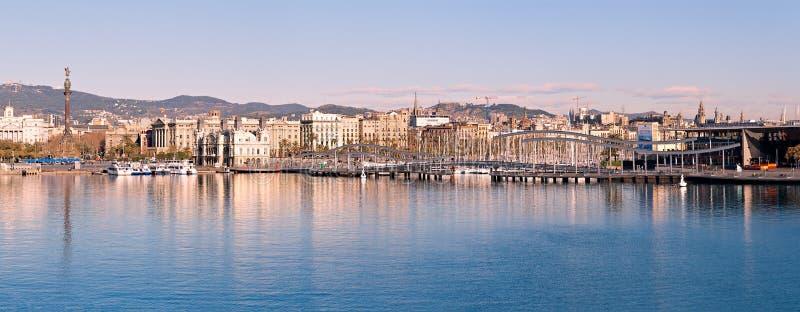 口岸Vell在巴塞罗那 免版税库存图片