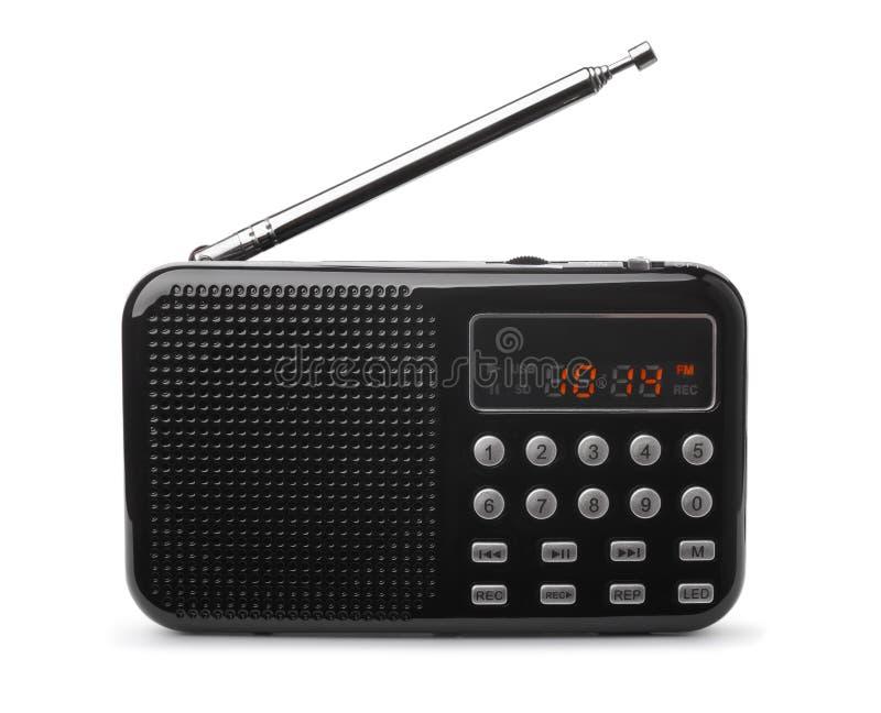 口袋FM收音机MP3播放器 库存图片