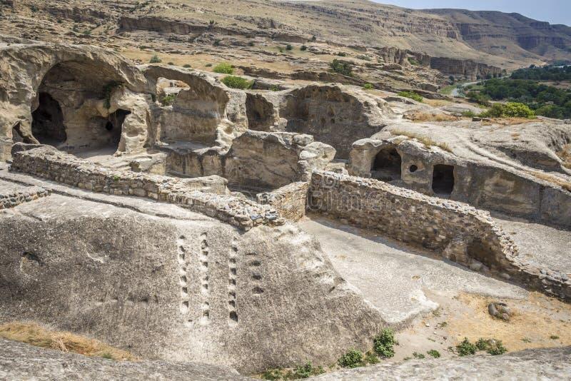 古代人洞  库存图片