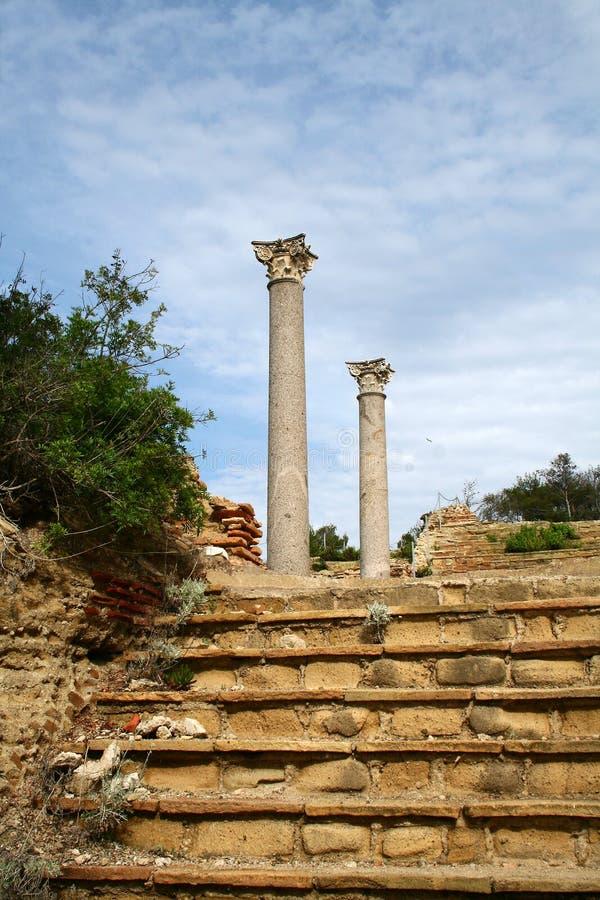 古代罗马废墟 免版税图库摄影