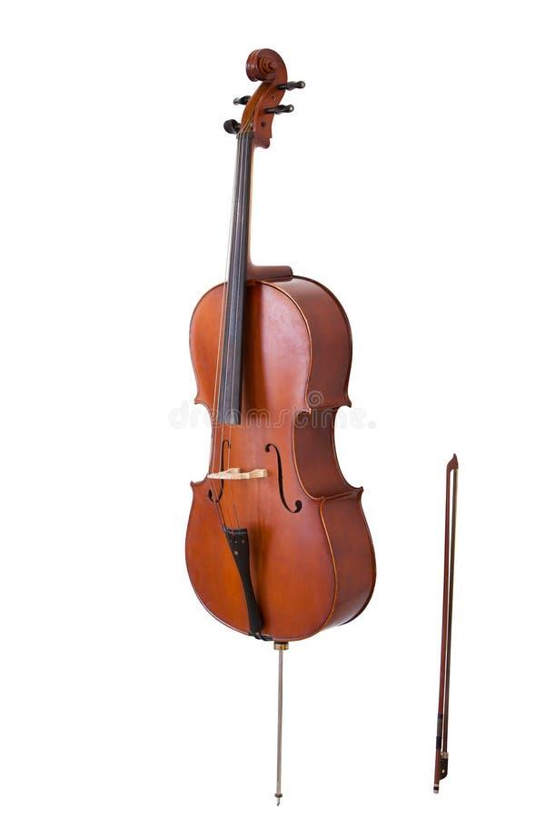 古典乐器大提琴 免版税库存图片