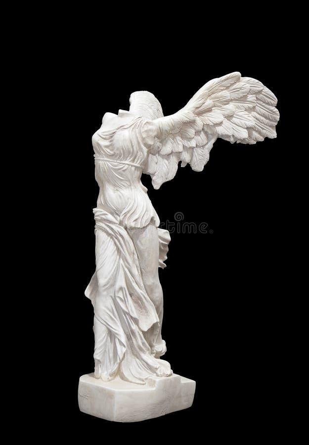 古典希腊语耐克雕象 库存照片