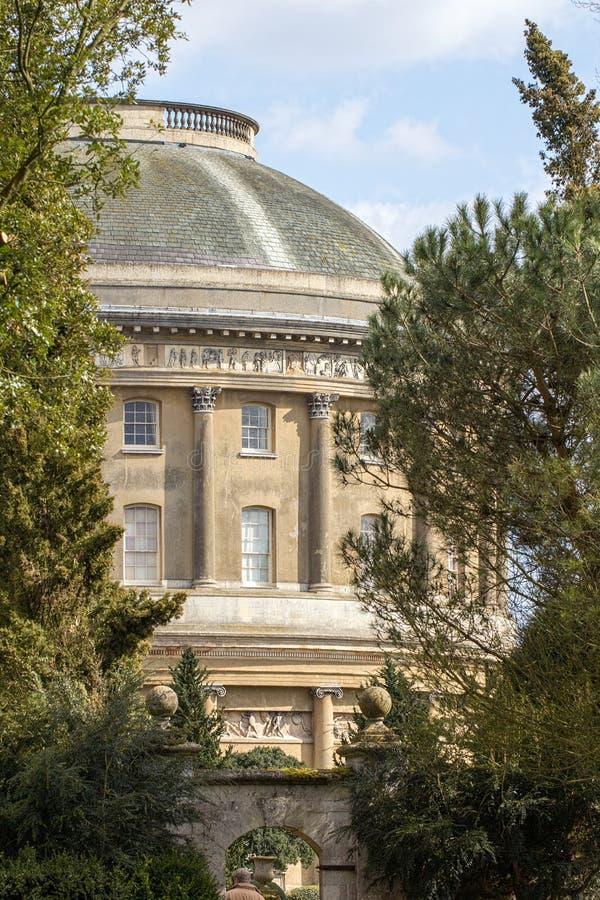 古典的结构 圆形建筑意大利的样式 库存图片