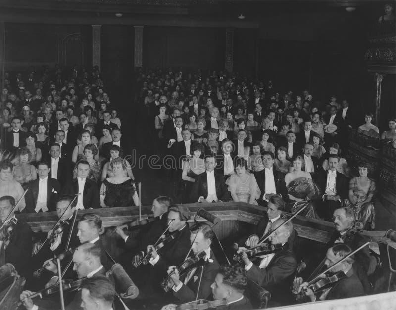 古典音乐会 免版税图库摄影