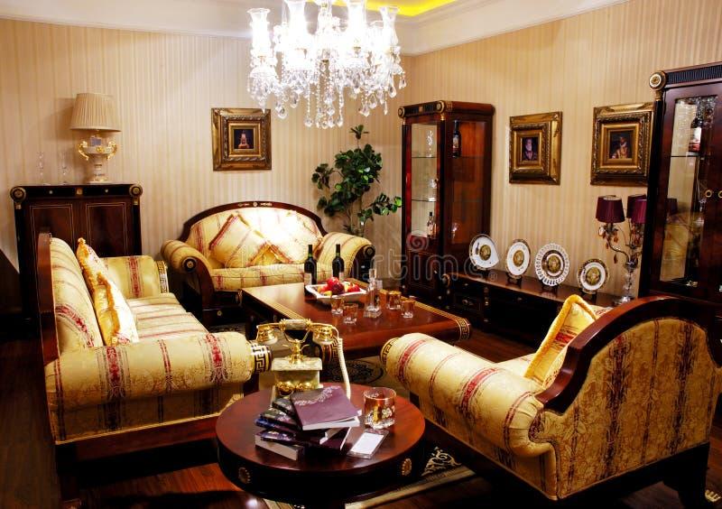 古家具符合 免版税库存照片
