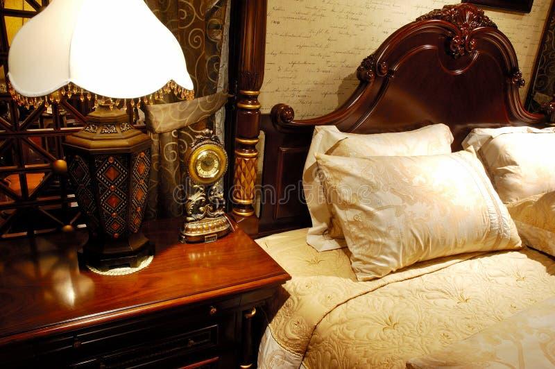 古家具符合 库存图片