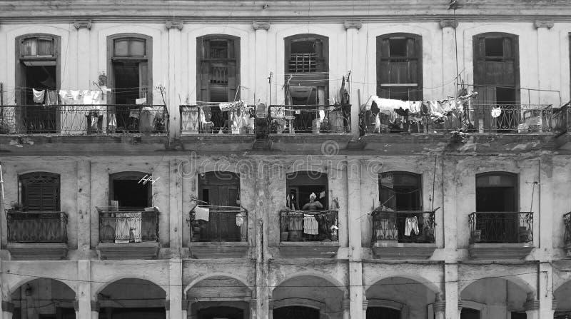 古巴周日普通的妇女 免版税库存照片
