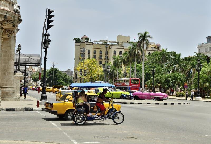 古巴和旅游业XII 免版税库存照片
