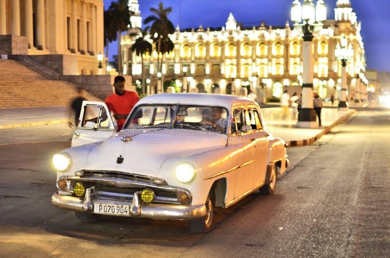 古巴和汽车II 库存照片