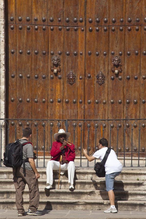 古巴哈瓦那设计 免版税库存照片