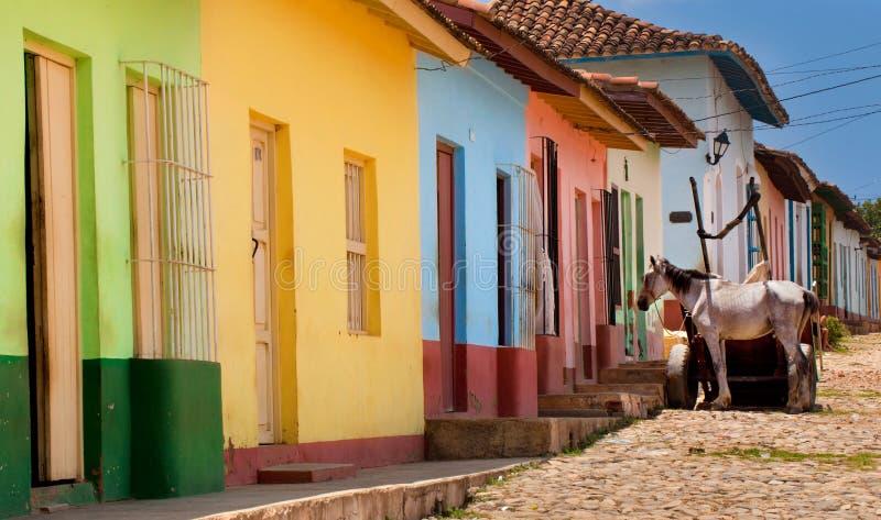 古巴特立尼达 免版税库存图片